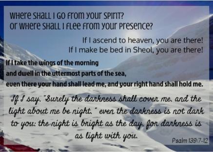Psalm 139:7-12