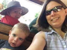 Zoo train ride
