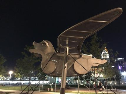 Flying Pig - downtown Cincinnati